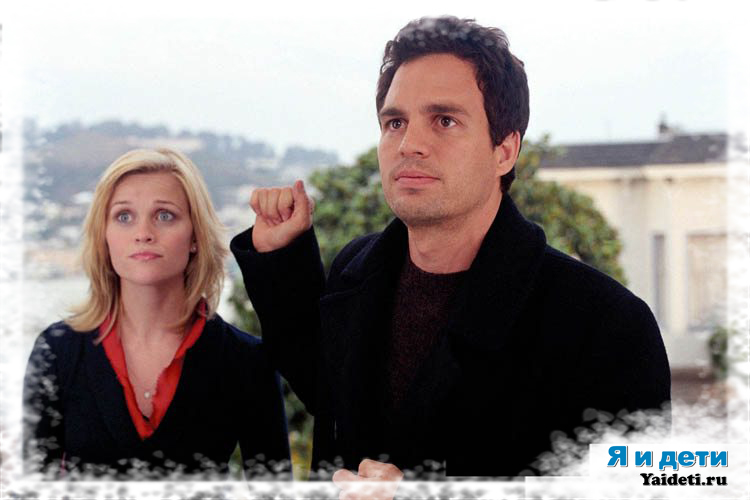 Reese Witherspoon og Mark Ruffalo i Just Like Heaven